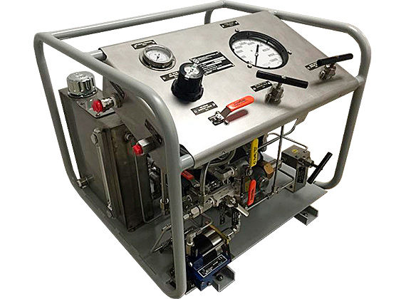 Mobile Hydraulic Packages : Mobile hydraulic packages for field hydrostatic tests of tubes, tube assemblies, pipelines, pipeline sections, high pressure and ultra-high pressure hoses
