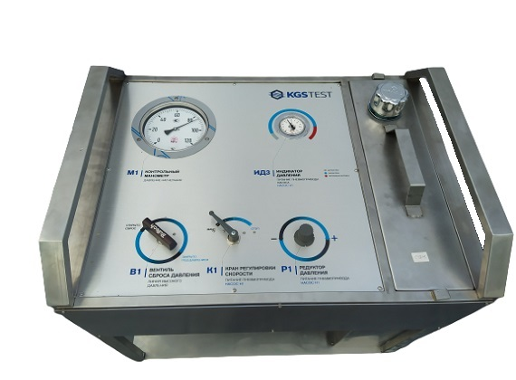 Mobile test system for control valves hydraulic testing