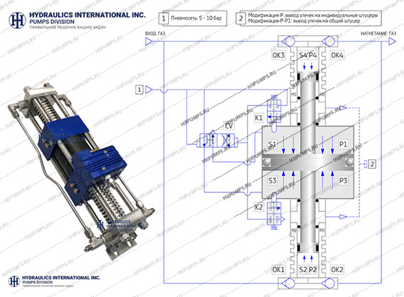 Gas booster 3G-DS-29