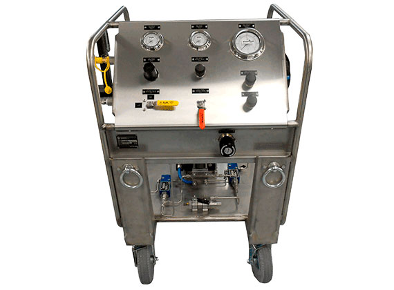 Hydraulic, Pneumatic, and Gas Test Equipment