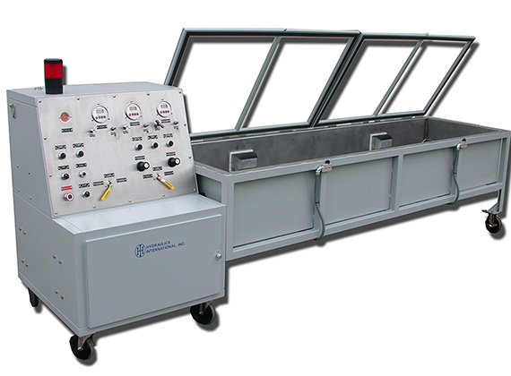 HIS series test bench for hydraulic testing of valves
